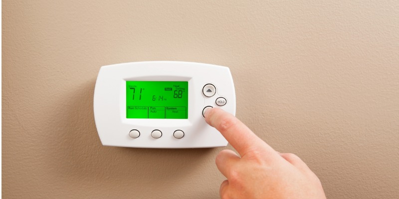Keep cool in the summer with a programmable thermostat