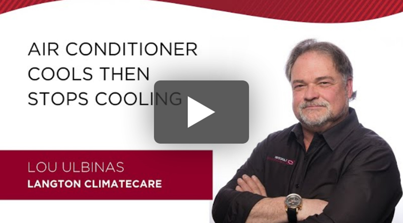 Air conditioner stops cooling